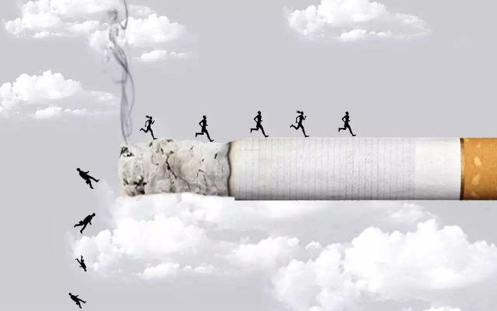 这个理由怎么样?漫画家推特漫画《我不戒烟的理由》
