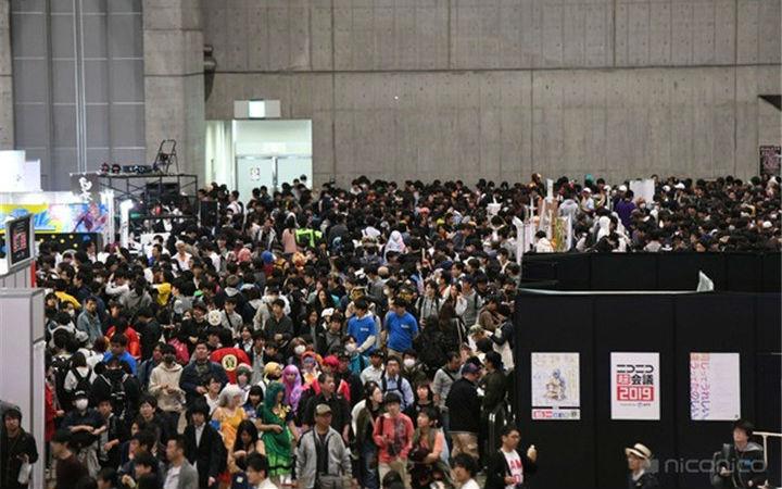 NicoNico超会议2019来场16.8万人!创过去最高