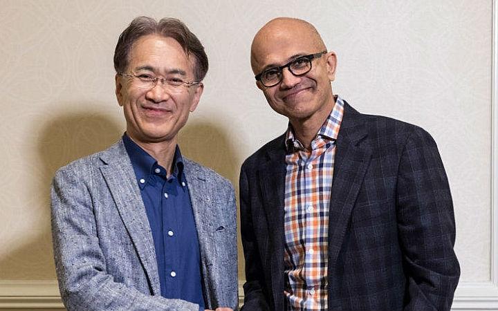 微软与索尼展开合作!强化AI与云游戏等方面