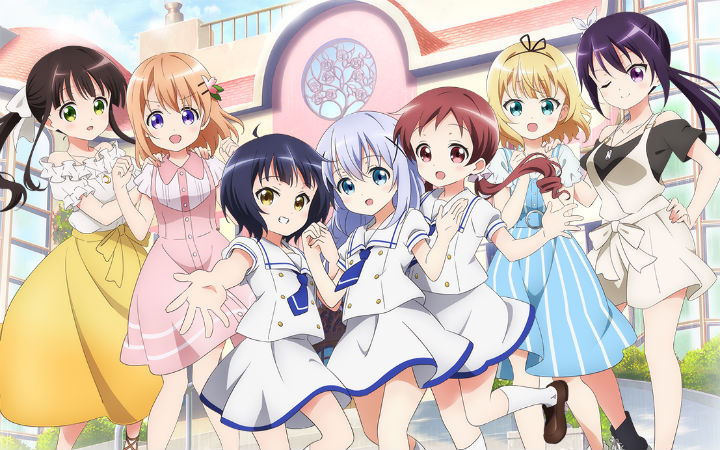 OVA《点兔》9月发售!剧中歌高分辨率音源等同捆