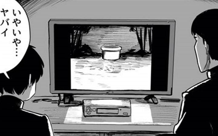 贞子要出来了怎么办?推特漫画《两丘之貉》