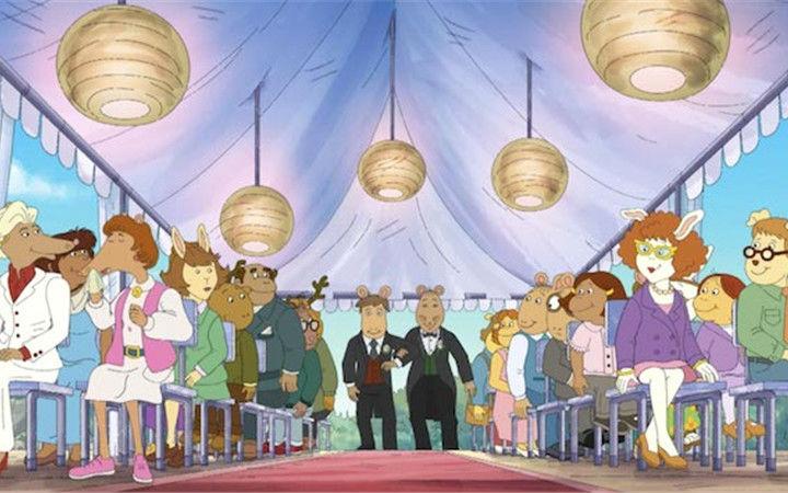 美国长寿动画《亚瑟小子》遭禁播!因出现同性举办婚礼的场景