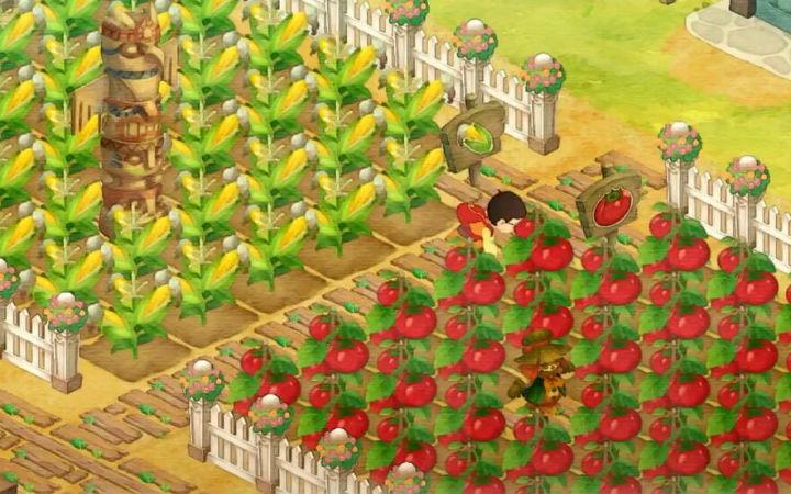 游戏《哆啦A梦 大雄的牧场物语》与村人交流的新PV公开