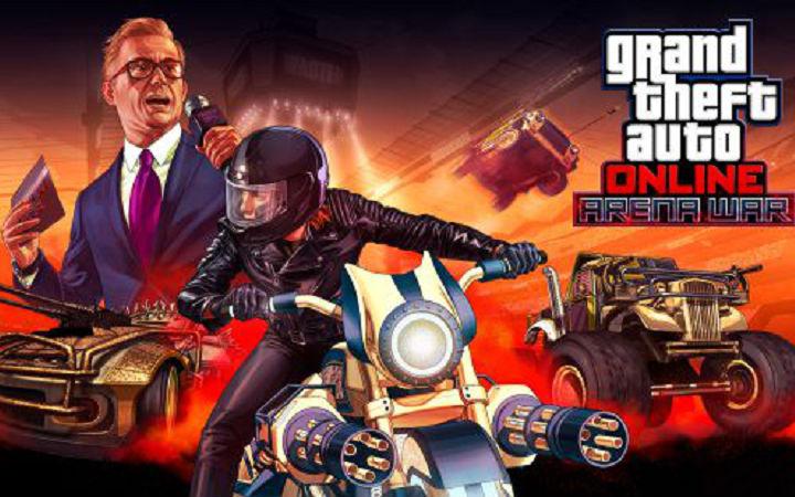 《GTA5》PC版在线人数排Steam创去年7月来新高