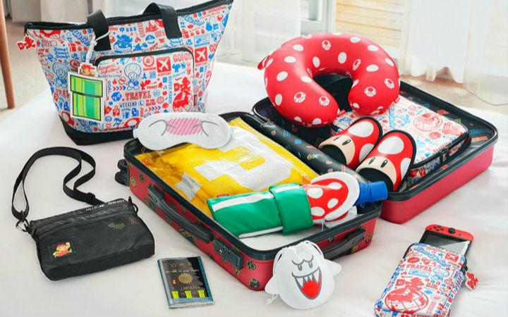 任天堂再推马里奥主题旅行周边 可折叠背包实用