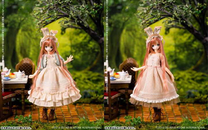 azone《爱丽丝的茶会》三月兔莱利娃娃开订