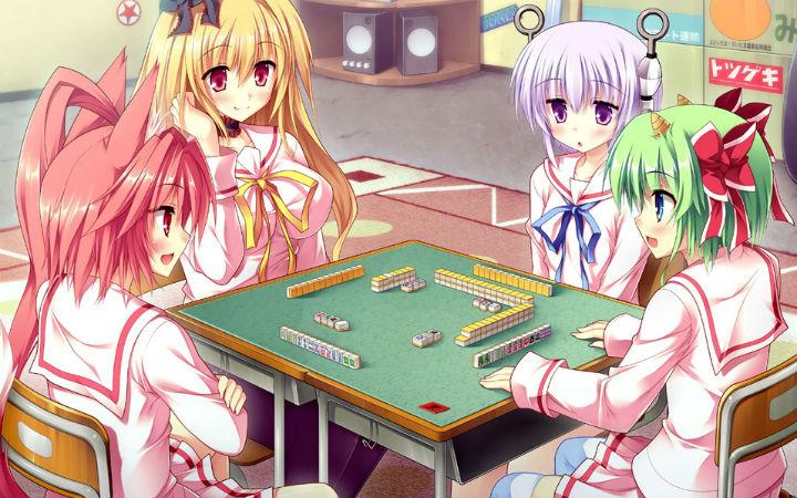 8月1日日本麻将之日!献上与麻将有关的美少女游戏CG图