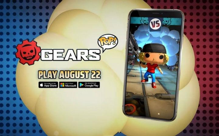 《战争机器》手游《Gears POP!》将于8月22日推出