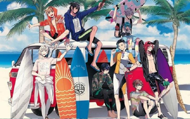 冲浪主题企划《WAVE!!》确定推出手机游戏与电视动画
