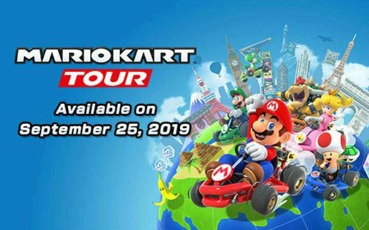 《马里奥赛车Tour》9月25日发售 登陆iOS和安卓平台