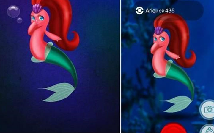 公主和精灵合体!《迪士尼公主 GO》实在太可爱