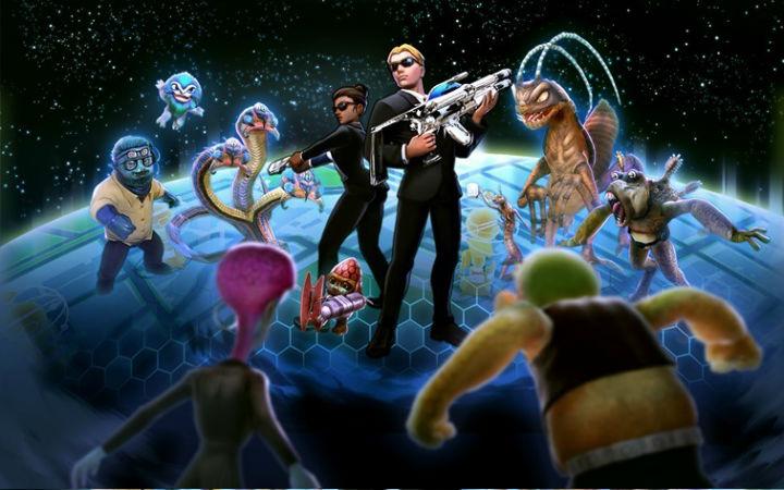 《星际战警》改编AR 游戏《星际战警全球入侵》推出