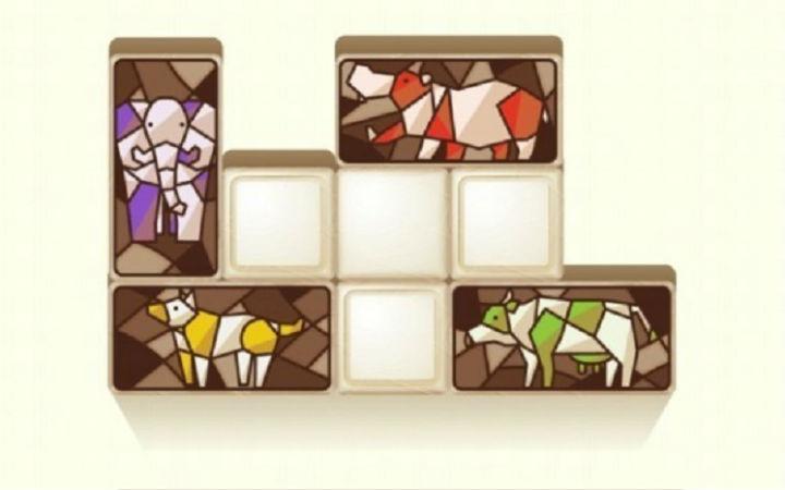 益智游戏《动物拼图Pazoo》移动动物剪影来解开谜题