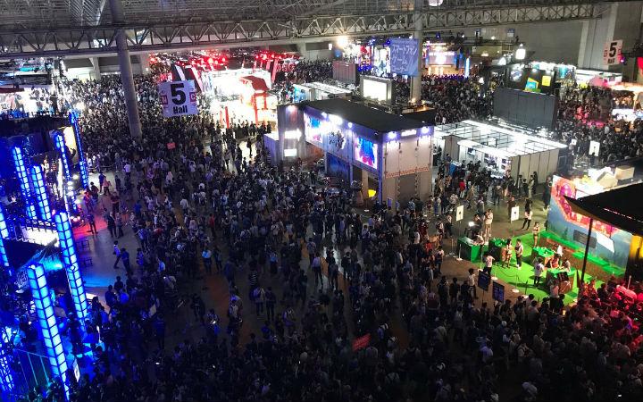 东京电玩展到场26.2万人!比上一届减少3.6万人