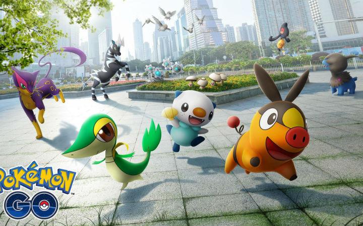 《Pokemon GO》宣布合众地区宝可梦们正式登场