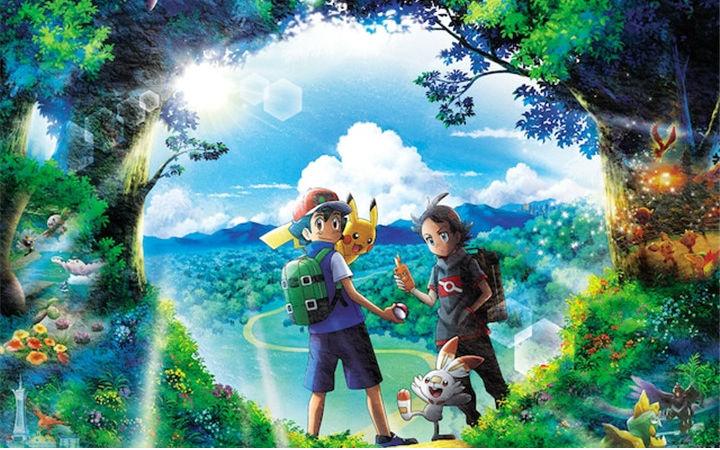 动画《精灵宝可梦》新系列预告片与新宣传图公开