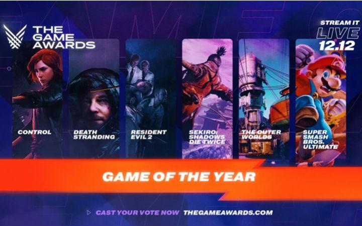 哪部能获奖?TGA2019最佳游戏等部门提名公开
