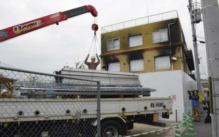 京都动画第一工作室开始拆除工作!预计明年春季完工