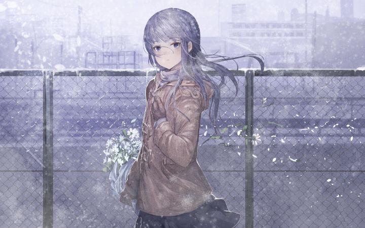 P站美图推荐——Snow&Coat特辑