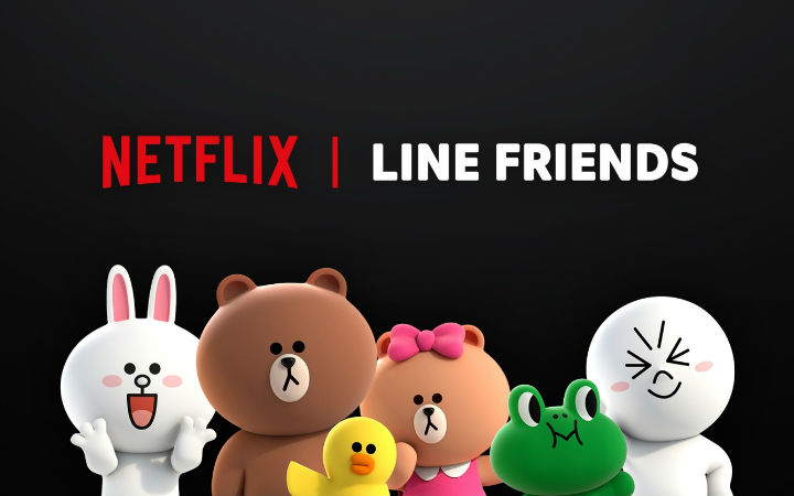Netflix携手LINE FRIENDS推出原创动画《BROWN & FRIENDS》