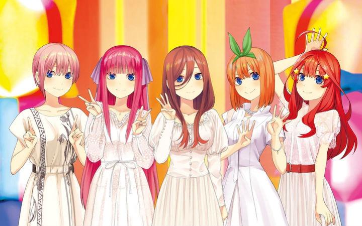 《五等分的花嫁》角色曲CD将于2020年3月发售!