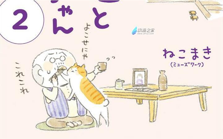 治愈每一天——老爷爷和猫