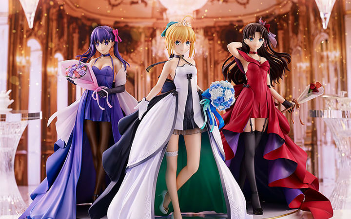 GSC《Fate/stay night》Saber、远坂凛、间桐樱15th版手办