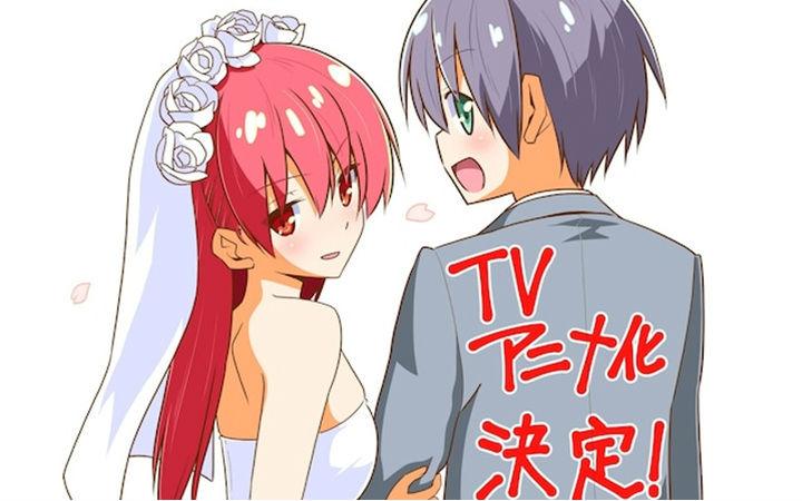 畑健二郎《总之就是非常可爱》TV动画化