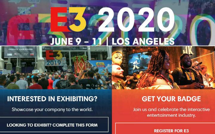 【补充】E3 2020游戏展正式取消