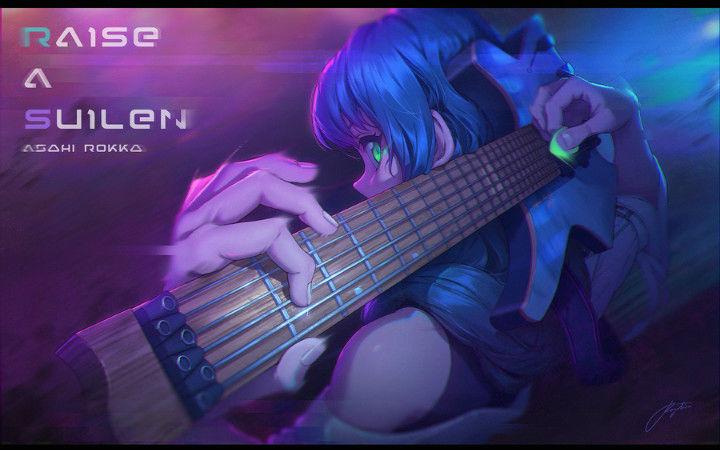 P站美图推荐——吉他特辑