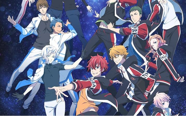 原创TV动画《Skate Leading☆Stars》PV公开