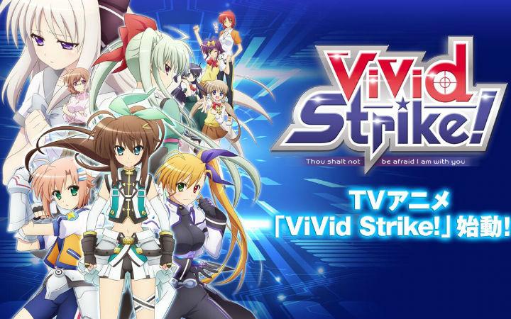 10月新番《ViVid Strike!》宣传视频及主视觉图发布
