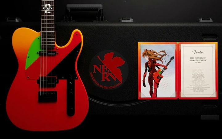 为纪念《EVA》剧场版上映 EVA明日香吉他7月发售