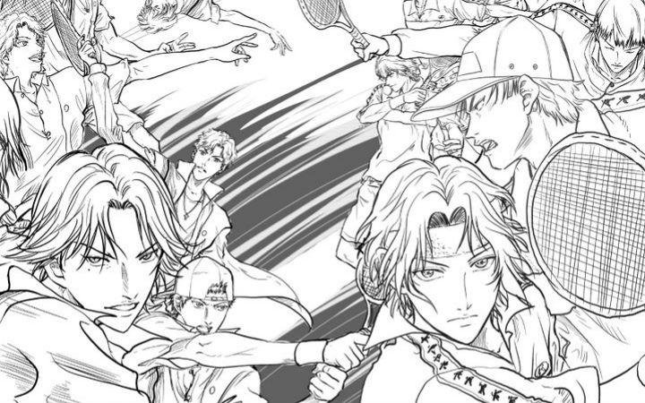 冰帝vs立海《网球王子》动画新系列制作决定!