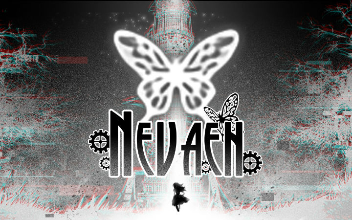 为了光明在黑白世界中冒险的少女!游戏《Nevaeh》即将发售