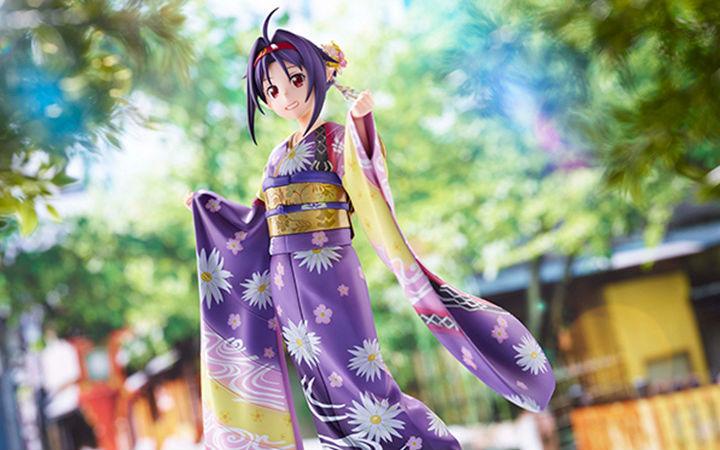 aniplex+《刀剑神域》有纪京友禅版1/7比例手办