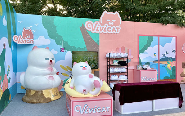 ViViCat空降宁夏动漫节 热掀吸猫风潮