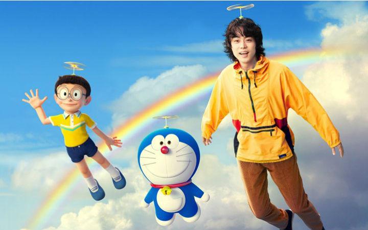 菅田将晖为电影《STAND BY ME 哆啦A梦2》献唱主题曲《虹》