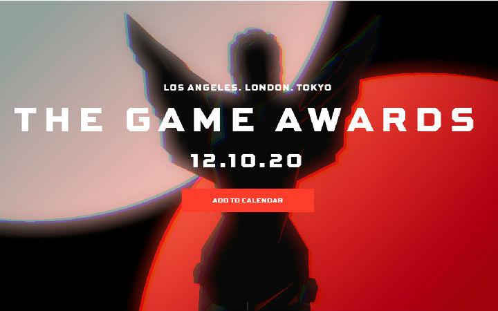 TGA 2020将于11月19日公布各奖项提名名单