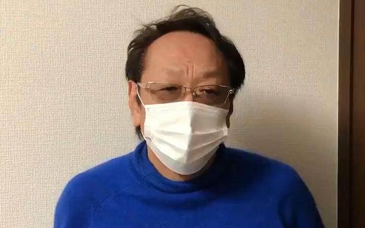 声优堀内贤雄宣布康复!呼吁大家佩戴口罩