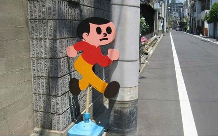 """日本吉祥物""""冲出小弟""""为了还原二次元感也是拼尽全力了"""