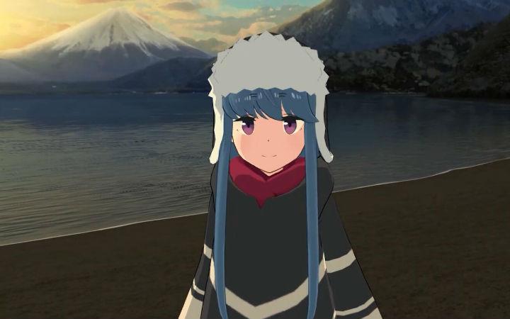 《摇曳露营△》系列宣布今冬推出VR游戏