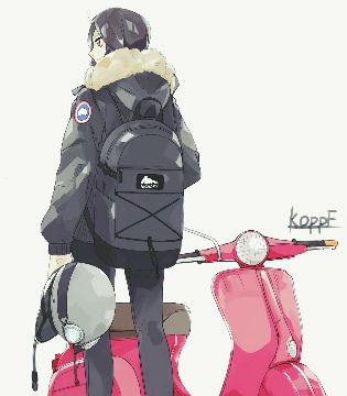 P站美图推荐——电摩特辑