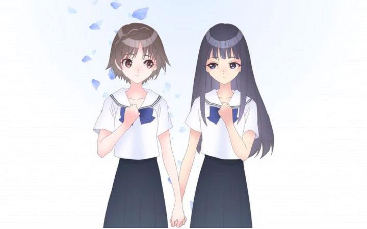 美少女游戏《蓝色反射》TV动画化决定