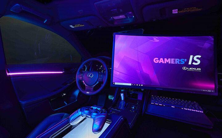副驾驶可以玩PC游戏!雷克萨斯推出搭载游戏PC的汽车