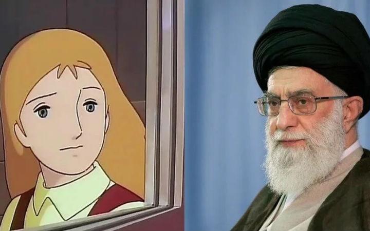 伊朗网络媒体:伊朗最高领袖表示动画女性要带头巾