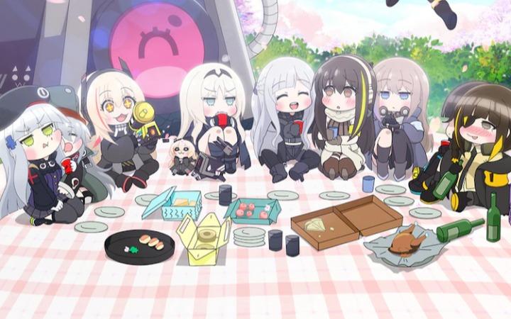 《少女前线》迷你动画《治愈篇2》3月12日播出 PV公开