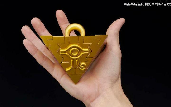 万代推出《游戏王》千年积木无说明拼装塑料模型