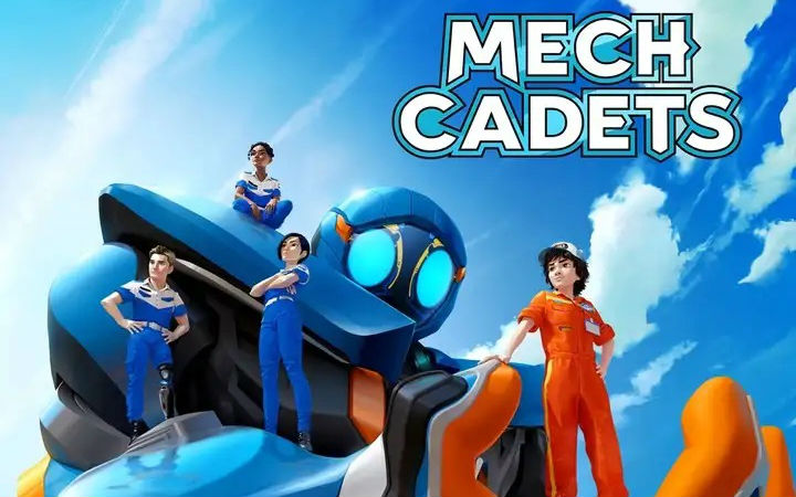 SF漫画《Mech Cadet Yu》动画化!网飞平台2023年公开