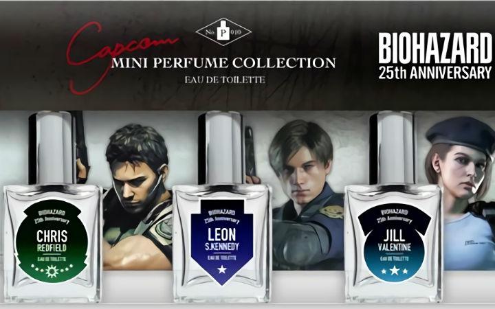 《生化危机》系列主角的印象香水发售